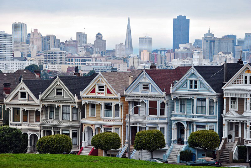 San francisco tours with russian speaking guide for San francisco victorian houses